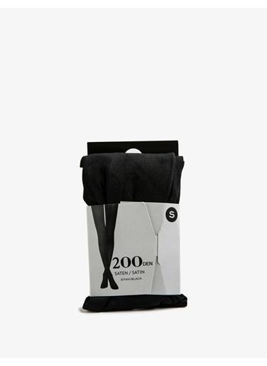 Koton 200Den Külotlu Çorap Siyah